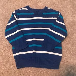 The Children's Place blue & white striped sweater